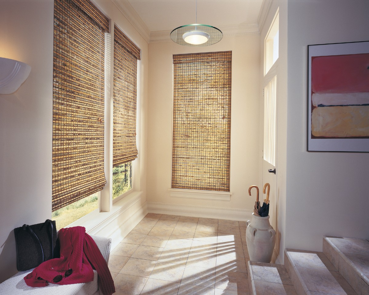 Woven Wood Shades – Charming beauty with lots of light