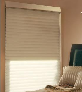 Dual Shades - Perfect for bedrooms - Light with room darkening