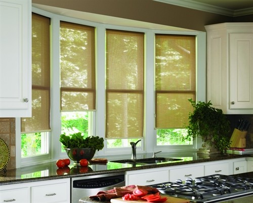 Screen Shades for windows – Very easy to care and clean - Ideal for sink windows
