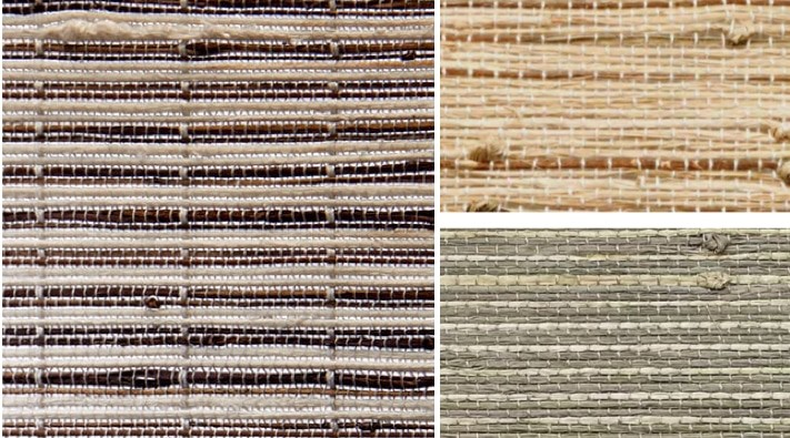 Natural Blind Knots Weaves — The weaving process of hand-crafted materials create knots - densely-woven contrasting weaves in subtle hues