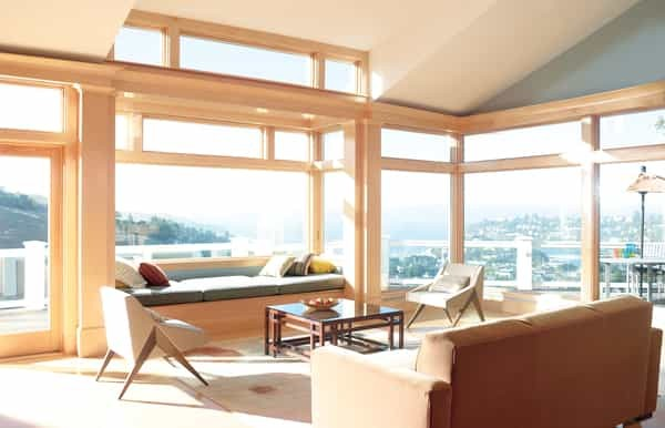 Window Treatments Sliding Door —  A larger glass expanse, say for a dining or living room, is a desired feature for Calgary homes. How to cover them? save energy bills, prevent drafts, and bring aesthetic elegance
